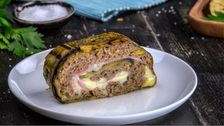ricetta polpettone di carne e melanzane