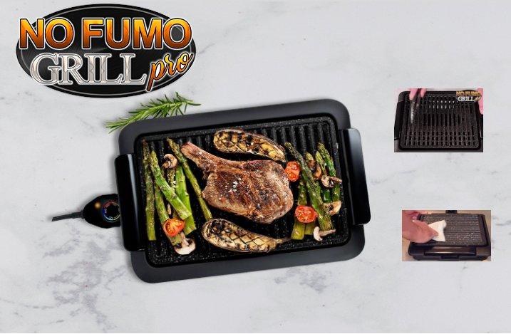 recensione no fumo grill pro