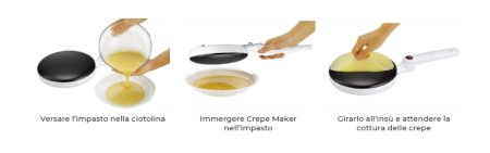 come si usa crepe maker