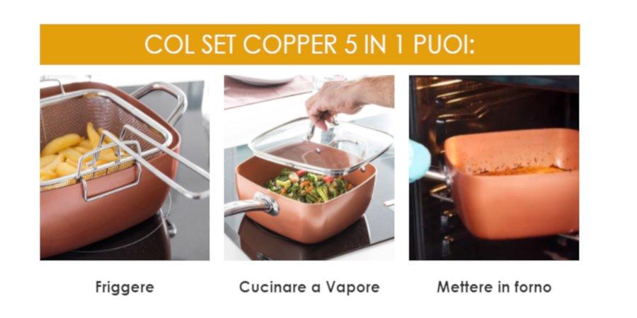 set copper recensione